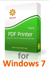 PDF Printer for Windows 7